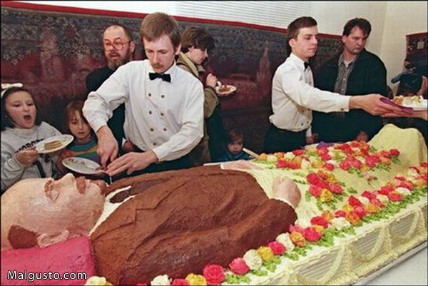 Pra quem não percebeu, esse é o Lenin