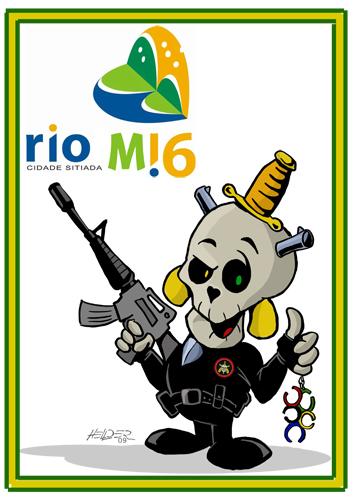 mascote rio 2016